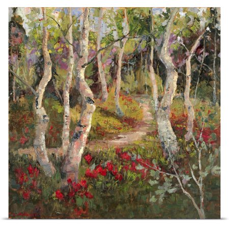 Great Big Canvas Nanette Oleson Poster Print Entitled Four Seasons Aspens I