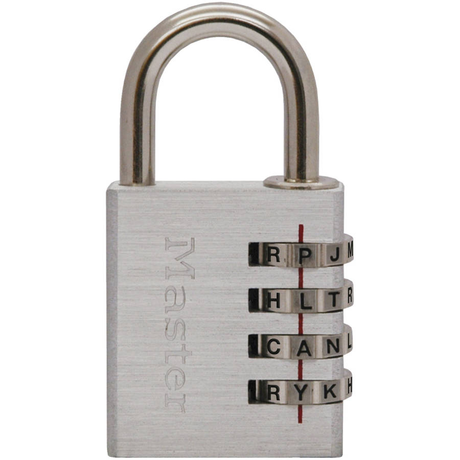 Master Lock 643DWD Master Lock Set Your Own Password Combo Lock