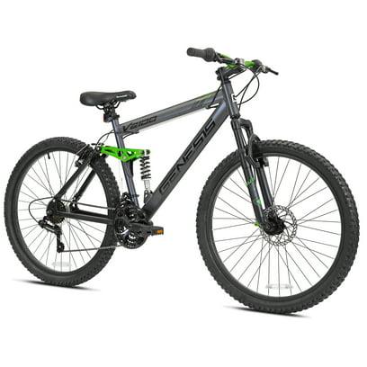 Genesis 26″ V2100 Men's Dual Suspension Mountain Bike