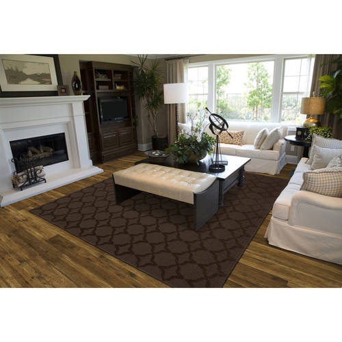 Sparta Cut and Loop Patterned Room Size Area Rug by Garland Carpet & Rug