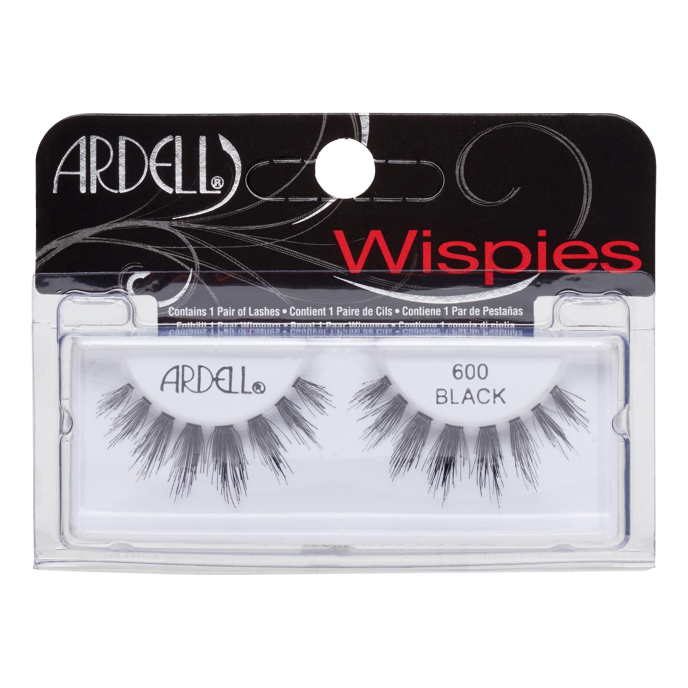Ardell Cluster Wispies False Eyelashes, # 600 Black, 1 pair