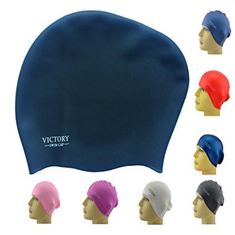Victory Women's Swim Cap, Black