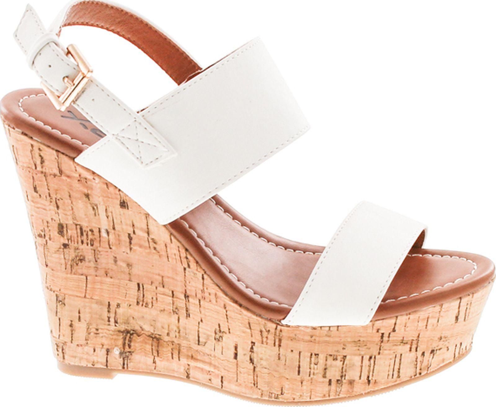 7f230b015b00 Static Footwear Bunty-02 Women s platform wedge heel open toe single ...