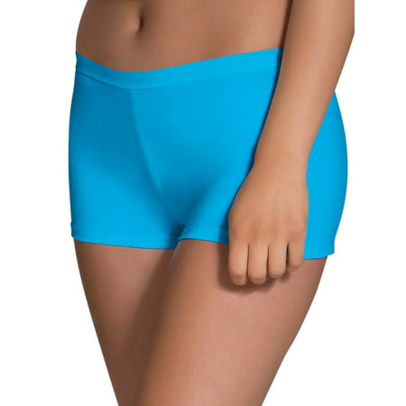 Women's Assorted Cotton Shortie Boyshort Panties, 6 Pack