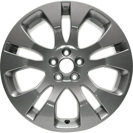 New Aluminum Alloy Wheel Rim 17 Inch Fits 2012-2016 Subaru Impreza 17x7 5 on 101.6 - 4 Inches 10 Spoke ()