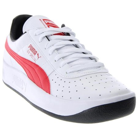 online store bbbdc dad2b Puma GV Special Mens White/Red/Black Sneakers