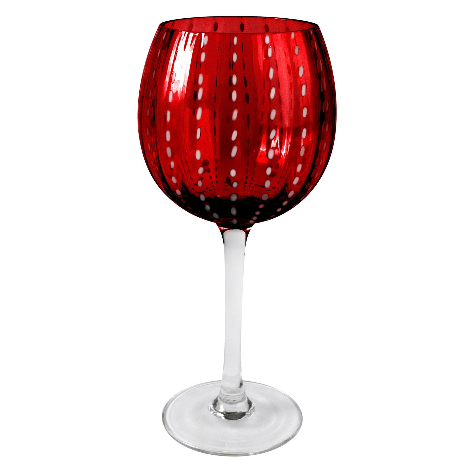 Artland Inc. Ruby Cambria Goblet Glasses - Set of 4