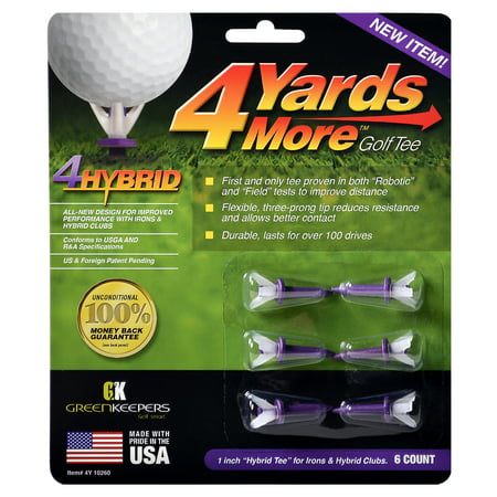 4 Yards More Reduced Friction Golf Tees 1