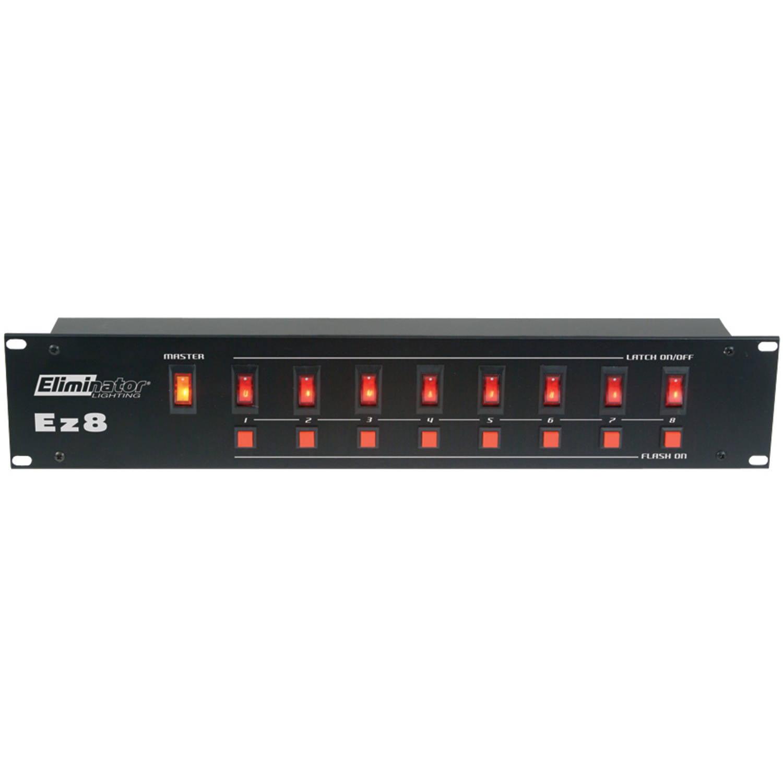 Eliminator Lighting 8-Channel EZ-8 II Light Controller by Eliminator Lighting
