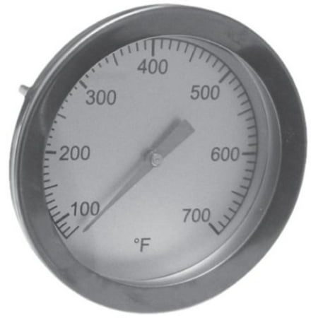 Big Green Egg BBQ Grill Temperature Gauge Heat Indicator