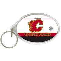 Calgary Flames WinCraft Acrylic Keyring