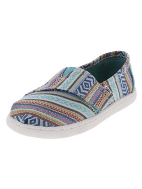 5150986ef82 Product Image Toms Girls Classic Tribal Low Top Casual Shoes Blue 11 Medium  (B