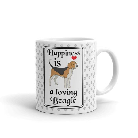 Happiness is a Loving Beagle Coffee Tea Ceramic Mug Office Work Cup Gift 11