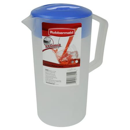 Rubbermaid Pitcher, 2-quart (FG306509PERI), FG306509PERI Mixing Qt 1878491 Saver Plastic Rubbermaid 2quart Carafe quart Racer Bottle LeakProof Dia.., By - Plastic Carafe