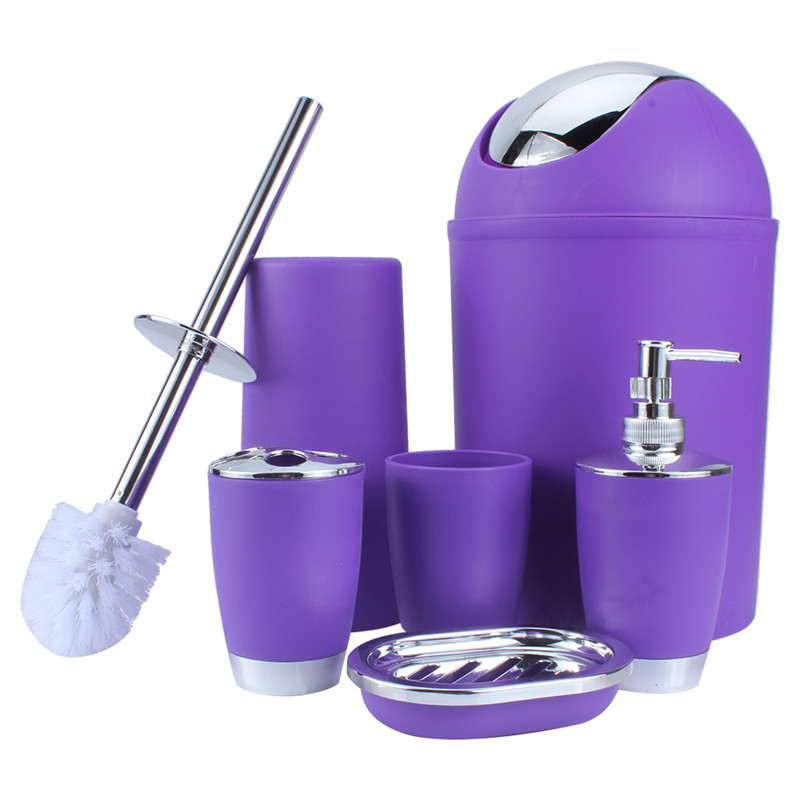Genial Purple Bathroom Accessories   Walmart.com