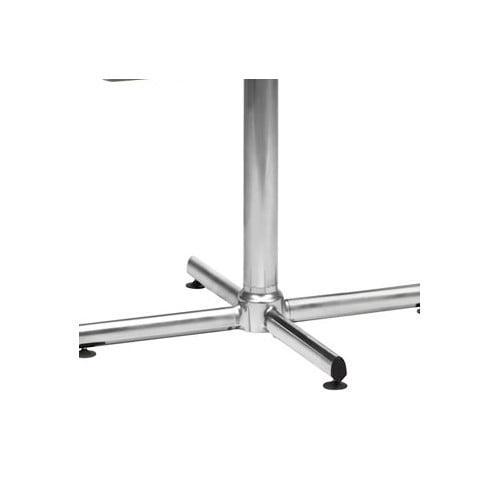 Virco Lunada 33'' X-Shaped Steel/Aluminum Base