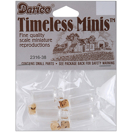 Timeless Miniatures Spice Bottles, 4pk