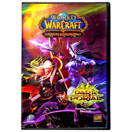 Dark Portal Wow Warcraft Card (World of Warcraft Trading Card Game Dark Portal Starter Deck [Random)