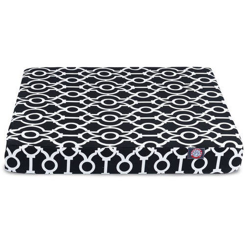 Athens Small Orthopedic Memory Foam Rectangle Dog Bed