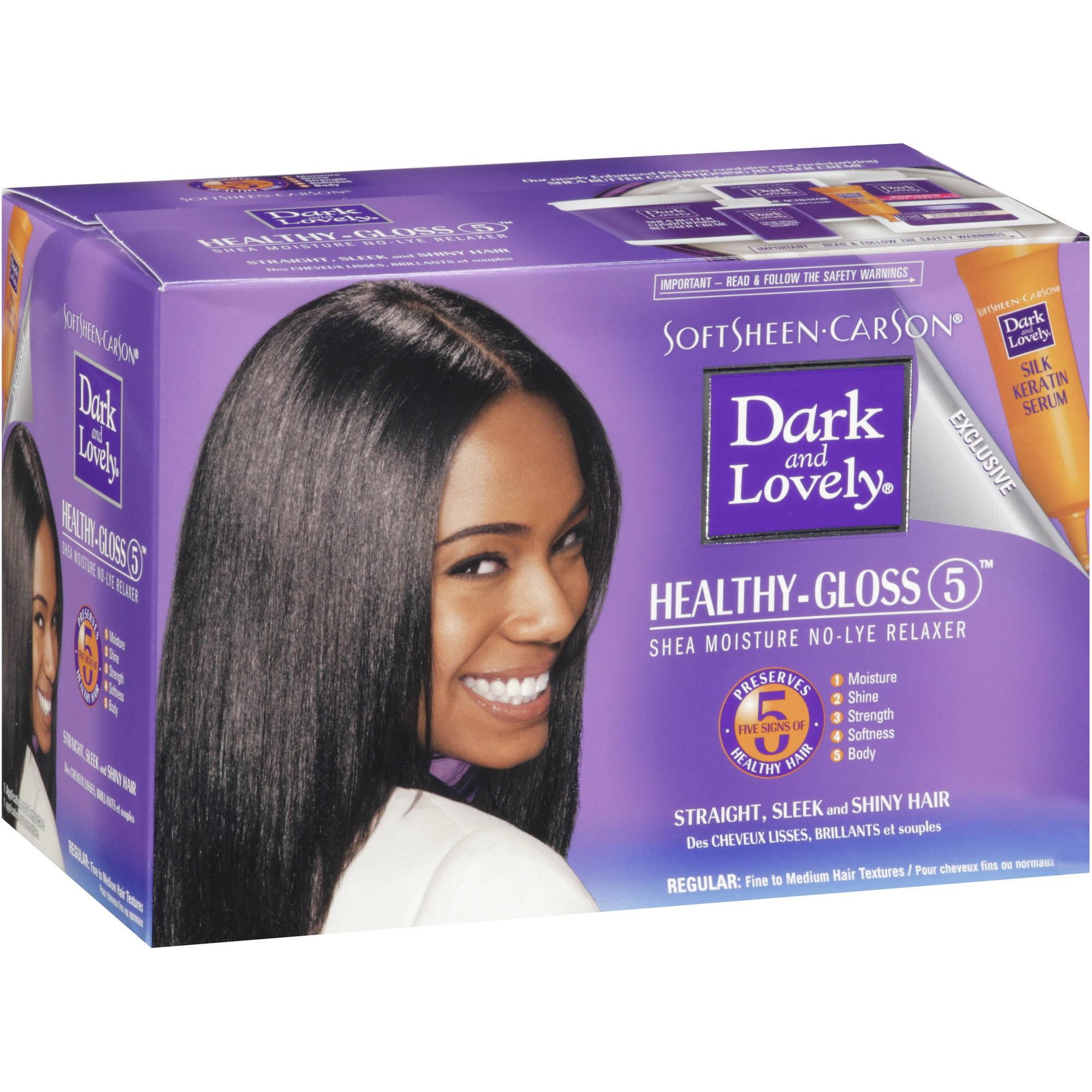 Dark & Lovely Healthy Gloss 5 Relaxer, Regular Strength