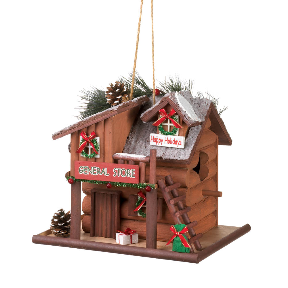 Groovy Home Locomotion Holiday General Store Birdhouse Interior Design Ideas Tzicisoteloinfo
