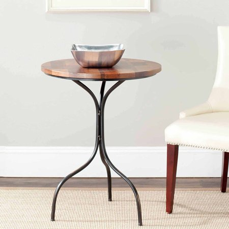 safavieh max side table copper. Black Bedroom Furniture Sets. Home Design Ideas