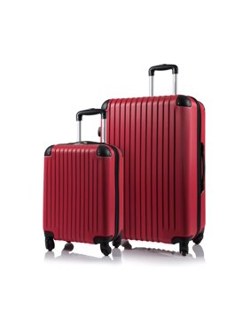 Champs Tourist Collection 2pc Hard Side Expandable Luggage Set