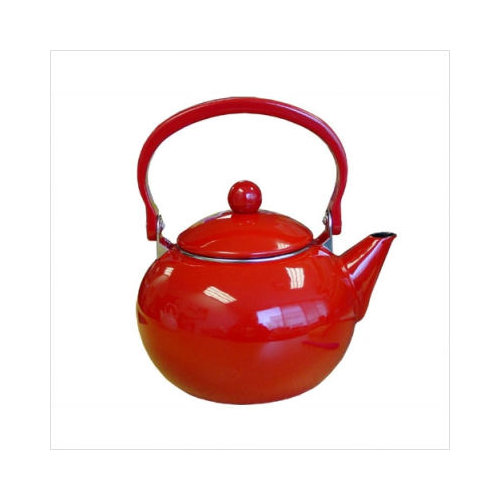 Bundle-17 Reston Lloyd Calypso Basics 64 oz Harvest Tea Kettle in Red