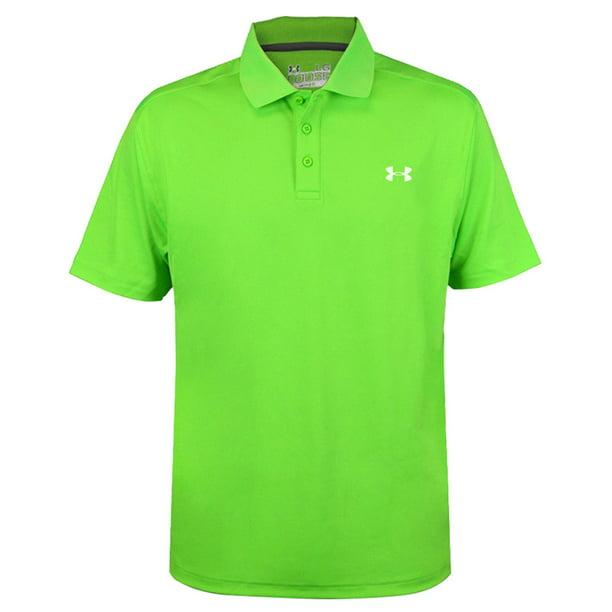 Polémico Reparador fórmula  New Under Armour Performance Polo Short Sleeve Golf Shirt Green Choose Size  - Walmart.com - Walmart.com