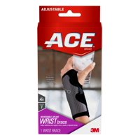 ACE Reversible Splint Wrist Brace, One Size, Adjustable