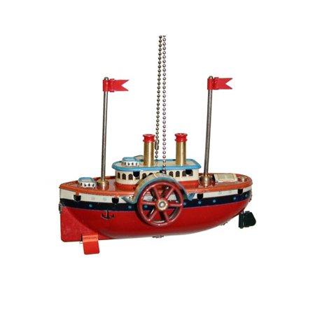 Alexander Taron Collectible Steam Boat Tin (Alexander Taron Tin Lever)