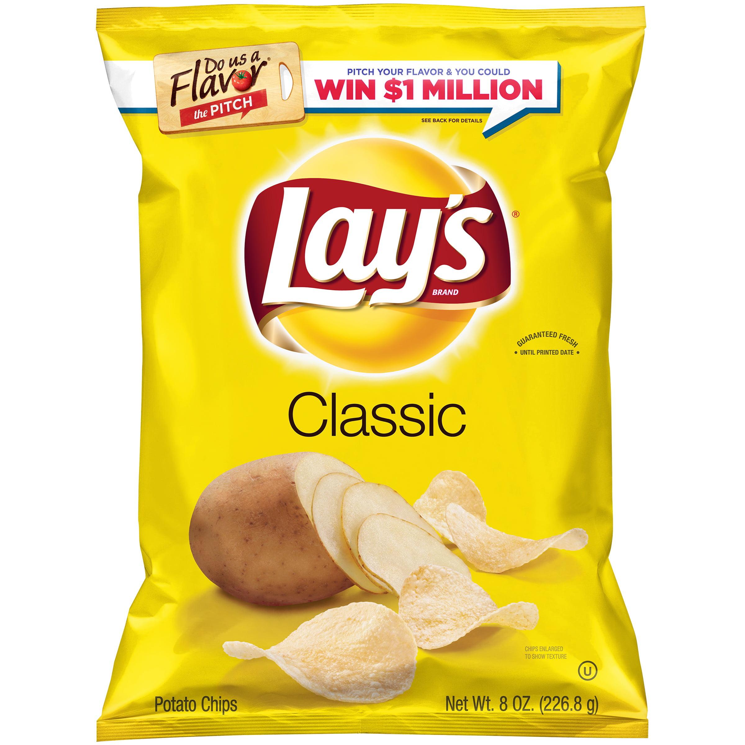 Lay's Classic Potato Chips, 8 oz. Bag by Frito-Lay, Inc.