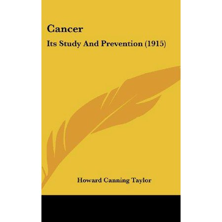 Cancer: Its Study and Prevention (1915) - image 1 de 1