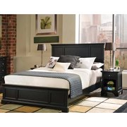 Bedford 2 Piece Bedroom Set Complete Queen Bed And Night Stand Ebony
