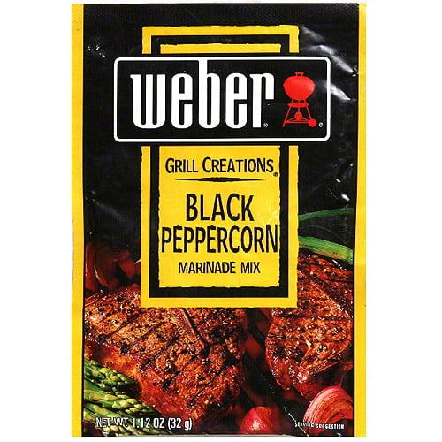 Weber Black Peppercorn Marinade Mix, 1.12 oz (Pack of 12)