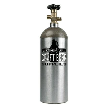 New 5 lb Aluminum CO2 Tank Draft Beer Kegerator Homebrew Welding Aquarium Beer (Beer Tap Handle Kegerator)