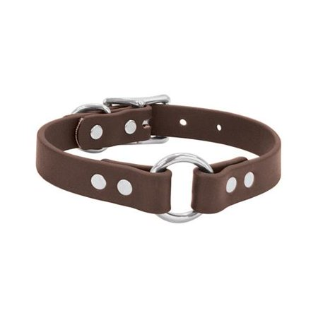 Weaver Leather 07 3116 Br 23 Brahma Webb Dog Hunting Collar  Brown Polyester Pvc  1 X 23 In