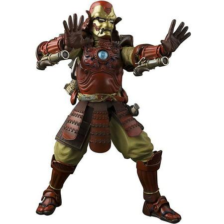 Marvel Meisho Manga Realization Samurai Iron Man Action Figure [Mark 3]