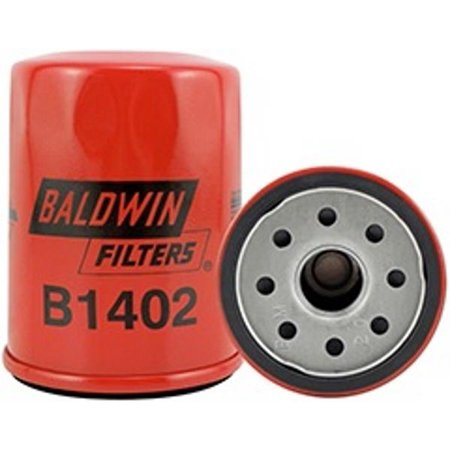 B1402 Baldwin Engine Oil Filter (Pack of (Baldwin Battery)