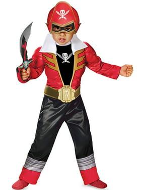 Super Megaforce Red Ranger Light-Up Toddler Costume
