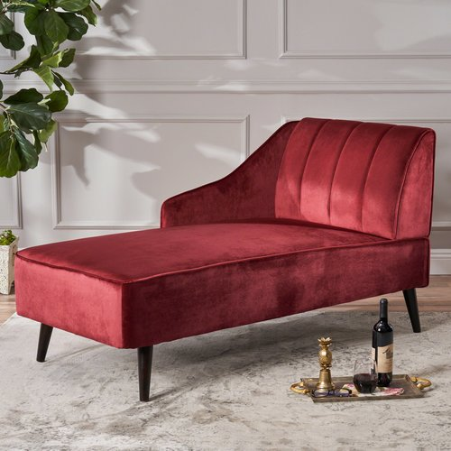 Wrought Studio Herbst Chaise Lounge