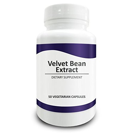 Pure Science Mucuna Pruriens  Velvet Bean  Standardized 95  Mucana L Dopa Extract 400Mg   Testosterone Supplement  Improves Mood   Boosts Libido   50 Vegetarian Capsules
