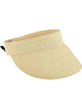 Product Image Women s San Diego Hat Company Ultrabraid Visor with Tie Back  UBV013 c67a140b1eb1