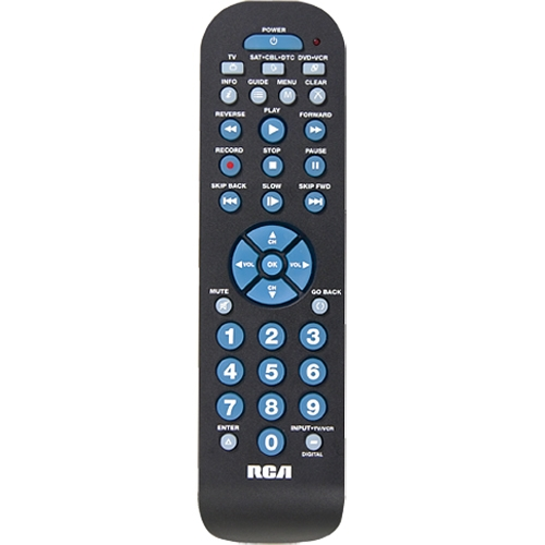 RCA RCR3273R Universal Remote Control - For Digital Video Player/Recorder, DVD Player, TV, Cable Box, Convertor Box, Sat