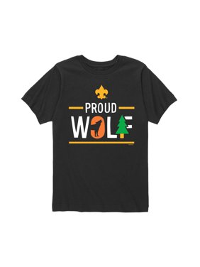 Boy Scouts of America Icon Wolf Cub Scout - Youth Short Sleeve Tee