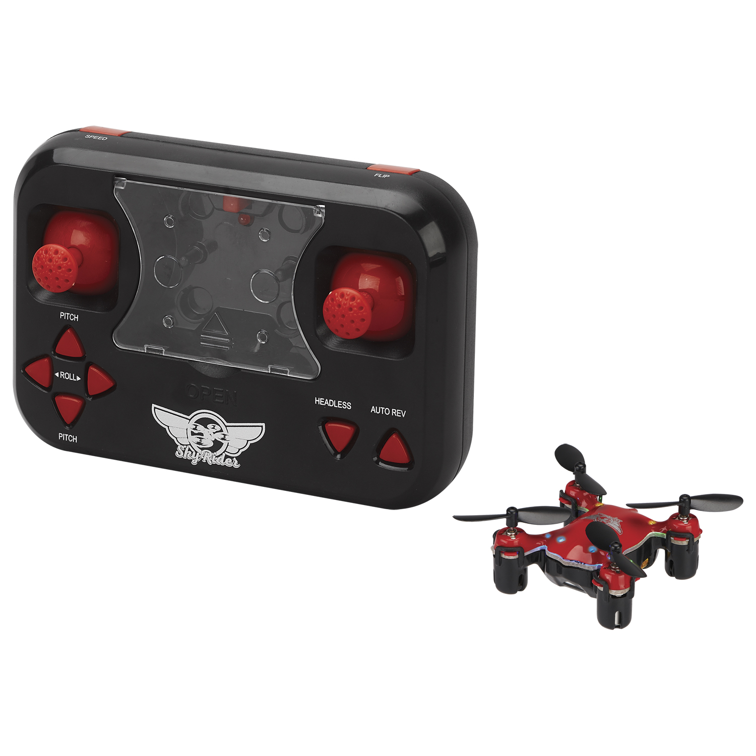 Sky Rider Micro Quadcopter Drone, DR107, Multiple Colors