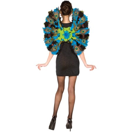 Peacock Wings Halloween Accessory, Adult, One Size Fits Most](Peacock Accessories)