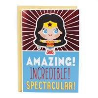 Hallmark Birthday Greeting Card (Wonder Woman)
