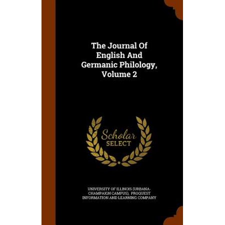 The Journal of English and Germanic Philology on JSTOR
