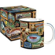 Arctic Circle Alaska Boxed Mug Lodge Signs